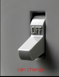 Light Switch Off -- CAN change